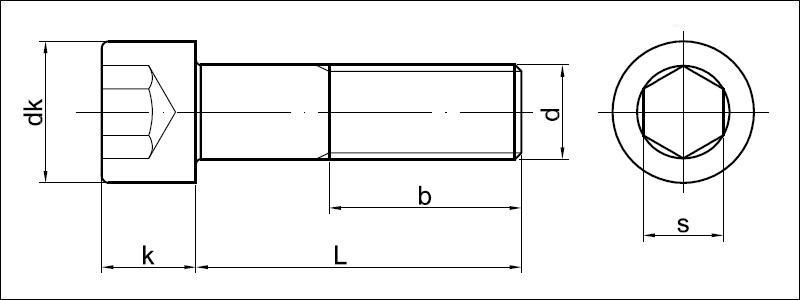 Hervorragend Zylinderschrauben mit Innensechskant, DIN 912 - Valenta ZT s.r.o. TV44